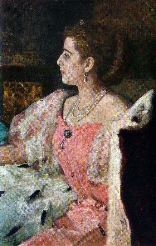 Portrait of N.P. Golovin. 1896