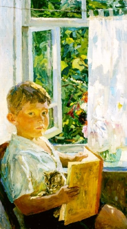 Portrait of a grandson, 1960
