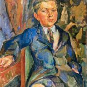 Portrait of the son Apollon Aristarkhovich Lentulov