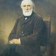 Portrait of the writer Ivan Turgenev, 1875