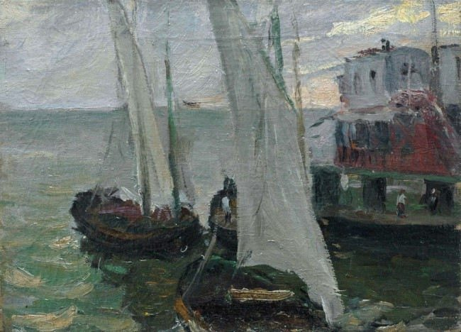 Sea pier. 1932