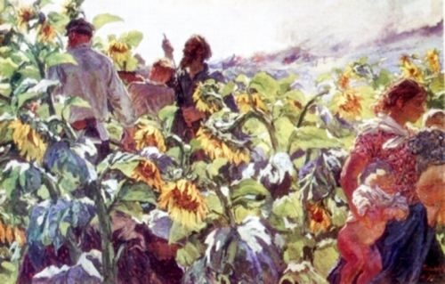 The Germans are coming. (Sunflowers), June 1941