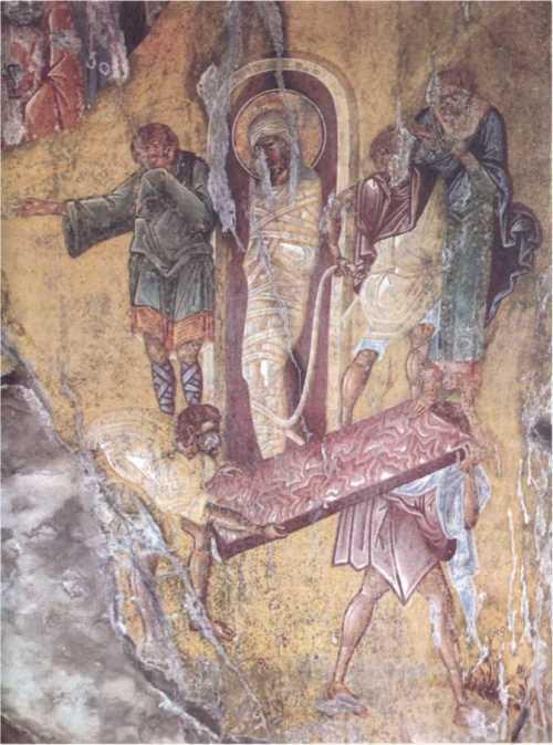 The Resurrection of Lazarus. 1428, Mystra, Greece