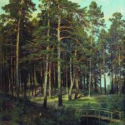 The bridge in the forest, 1895