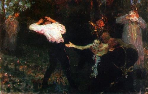The duel. 1913