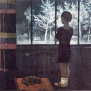 The girl at the window. Winter. 1931