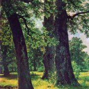 The oaks. 1887