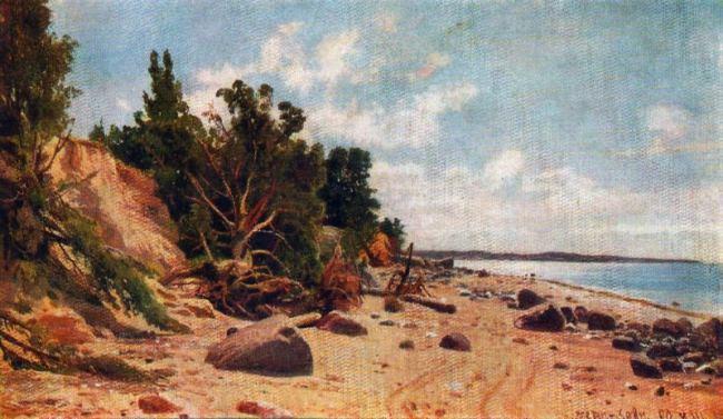 The shore of the sea. 1890