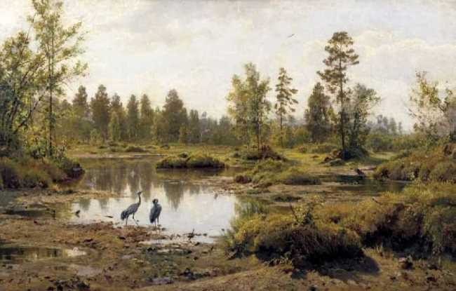 The swamp. 1890