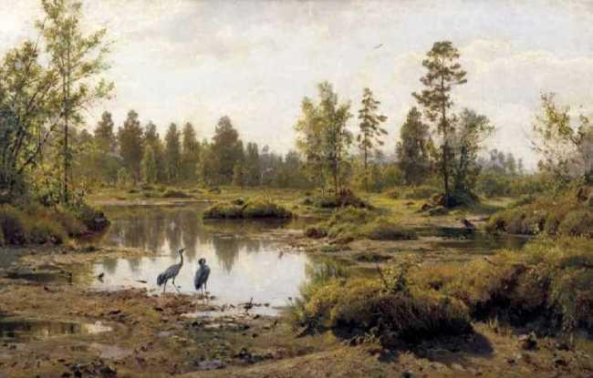 The swamp. 1890