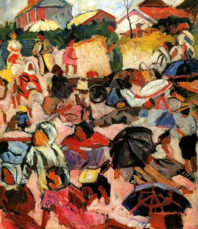 Umbrellas. 1910