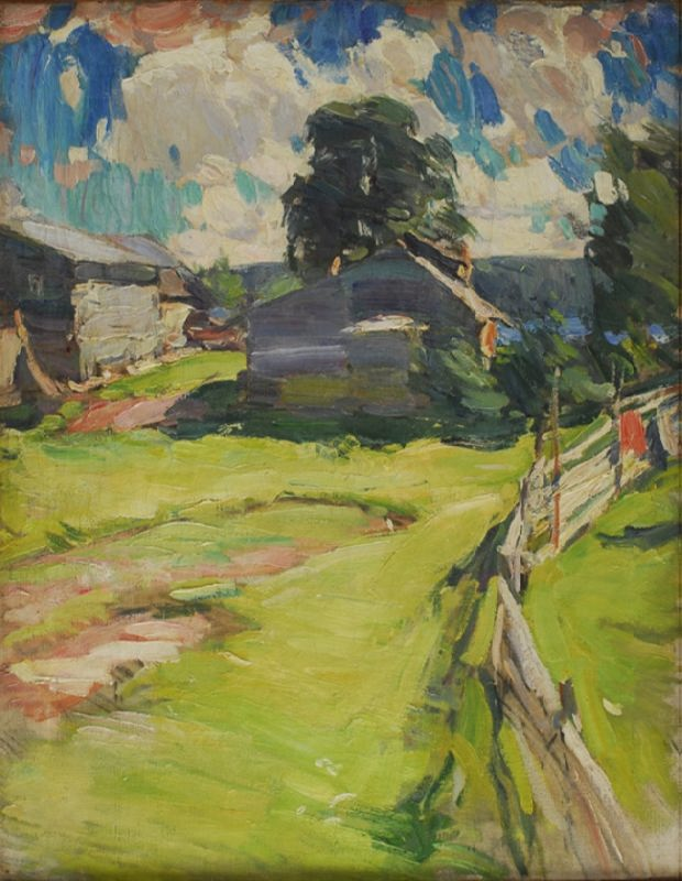 After the rain. 1910