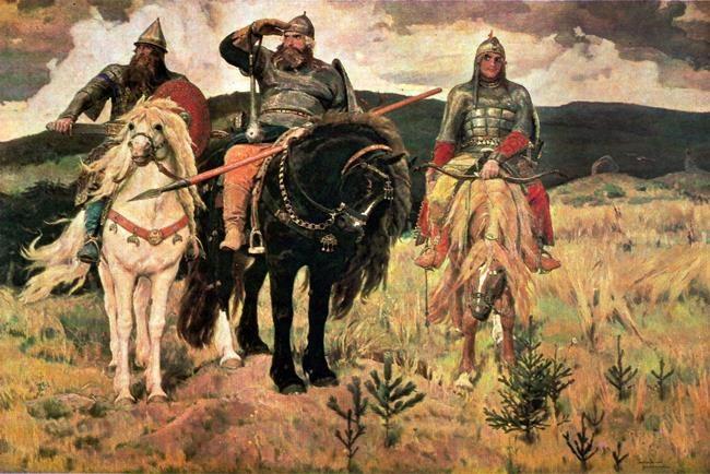 Bogatyri. 1881-1898