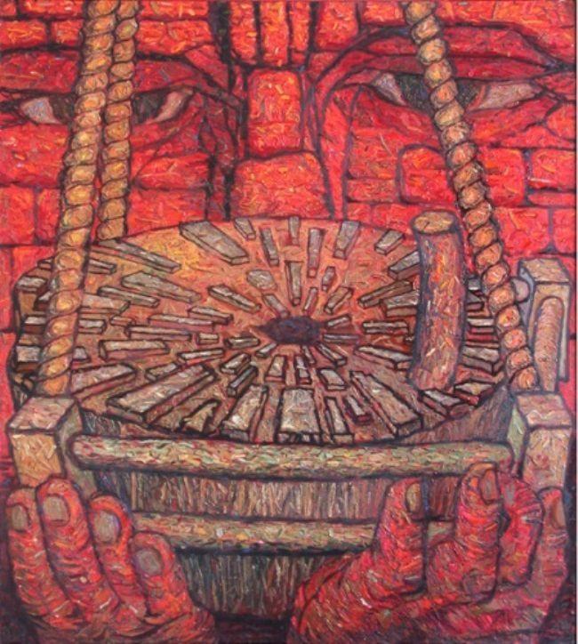 Cradle for millstones