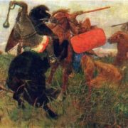 Fight of the Scythians with the Slavs. 1881