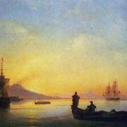 Neapolitan Bay in the morning. 1843