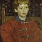 Portrait of Vladimir Vasnetsov, son of the artist. 1899