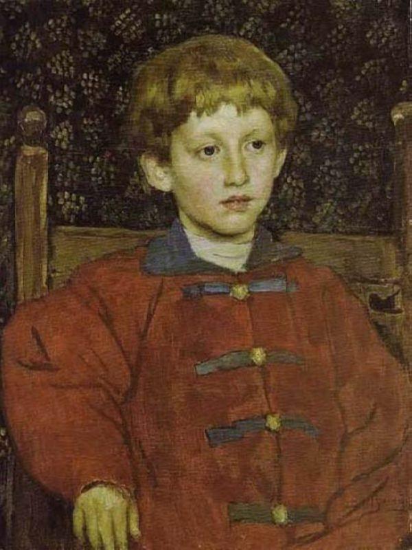 Portrait of Vladimir Vasnetsov, son of the artist. 1899