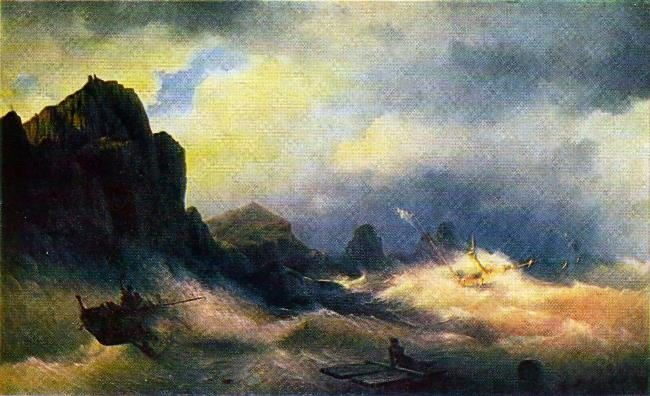Shipwreck. 1843