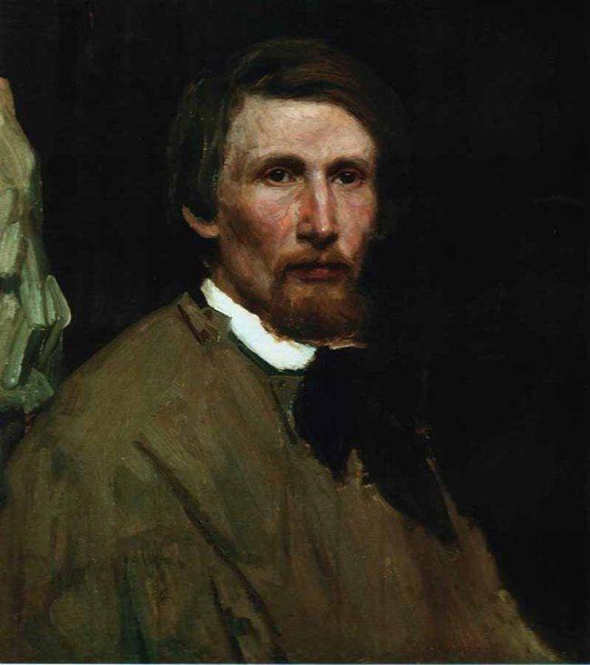 Vastnetsov, Self-portrait, 1873