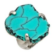 Beautiful ring with turquoise