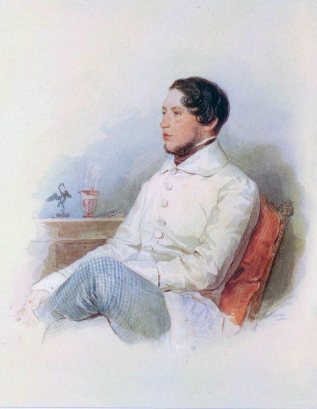 Count Lev Aleksandrovich Sollogub (1812-1852)