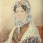 Countess Natalia Alexandrovna Zubova (1775-1844), nee Suvorova. 1824