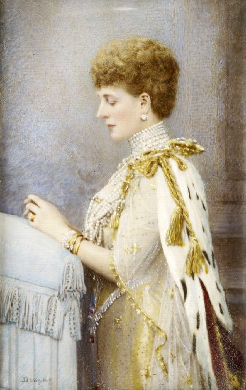 Danish princess, wife of Edward VII, Queen of Great Britain and Ireland, Empress of India