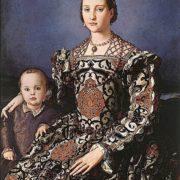 Eleonora de Toledo by Bronzino (Uffizi)