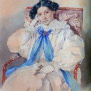 Elizaveta Khitrovo, born Kutuzova (1783-1839)
