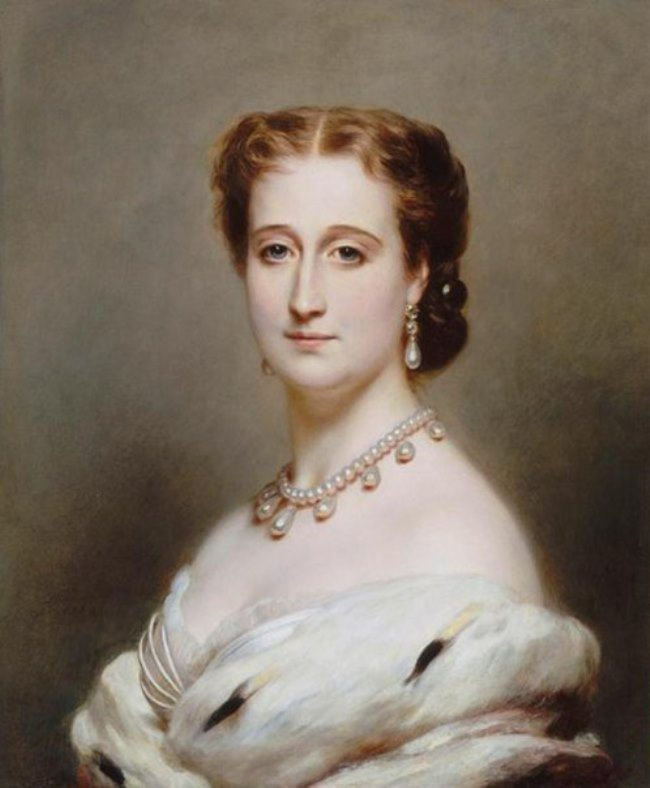 Franz Xaver Winterhalter. Portrait of Empress Eugenia, wife of Napoleon III