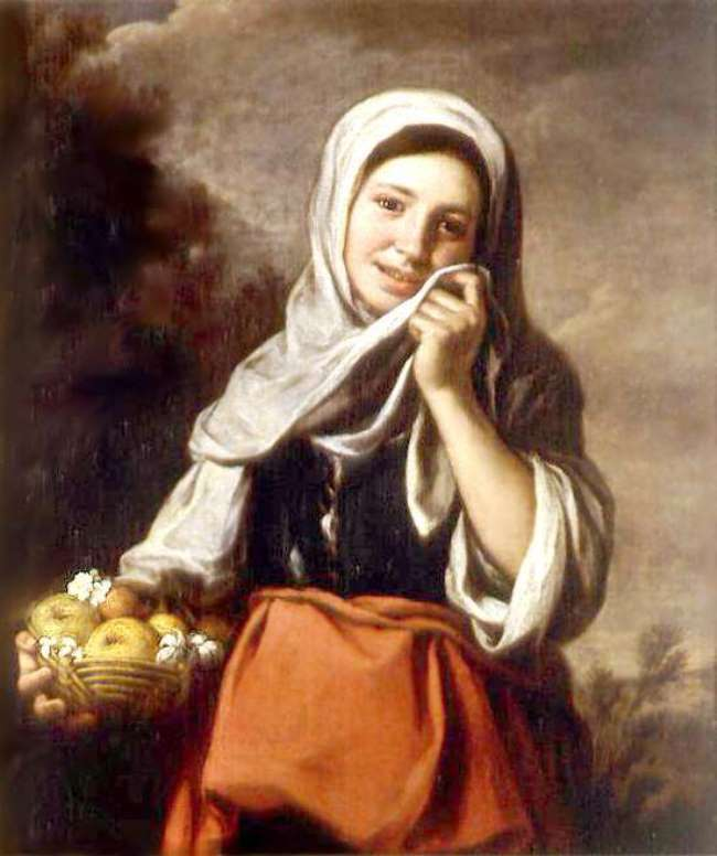 Girl - Fruit saler, 1650, State Museum