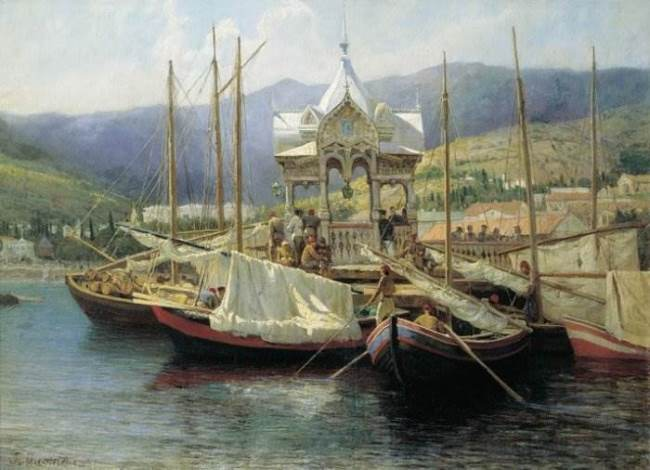 Harbour Of Yalta