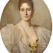 Heinrich von Angeli. The Empress Alexandra Fedorovna, 1896
