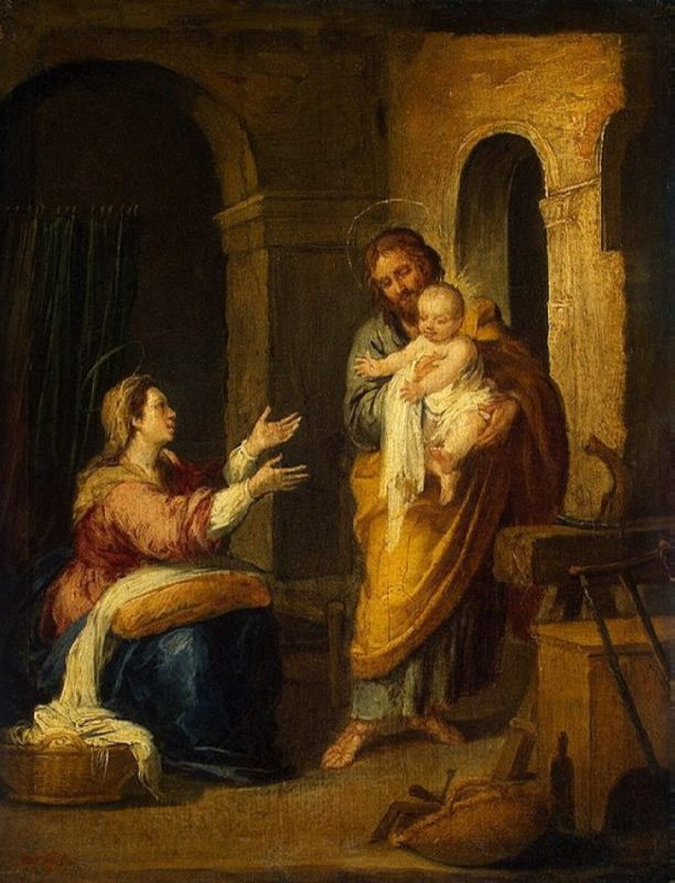 Holy Family, 1660-70, Hermitage, St. Petersburg