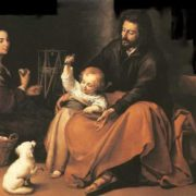 Holy family with a bird, 1650, Museo del Prado, Madrid