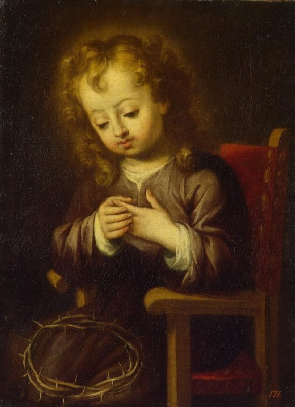 Infant Christ Pricked with the Crown of Thorns