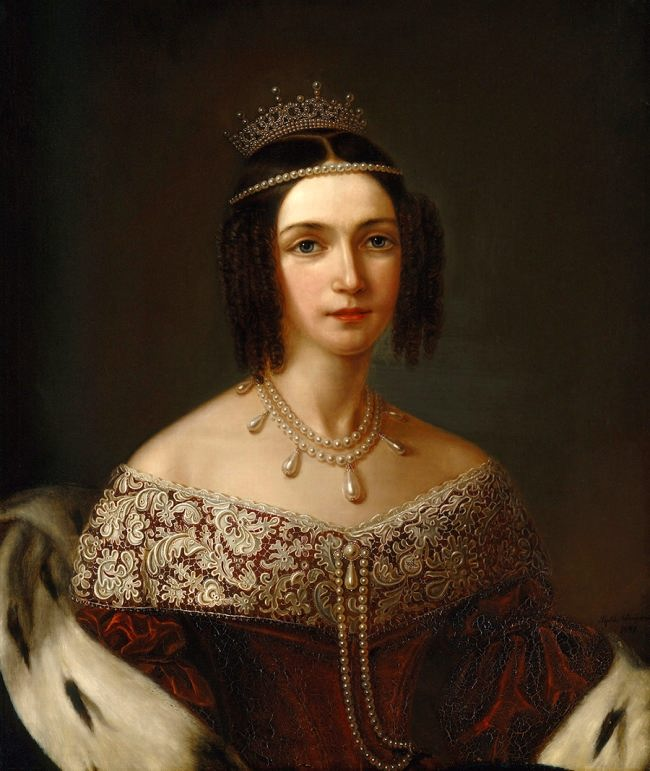 Josephine of Leuchtenberg, the grand daughter of Queen Josephine