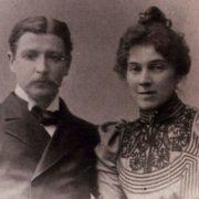 M.A. Vrubel and his wife N.I. Zabela. 1896