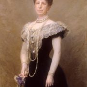 Maria Cristina of Austria, Queen Consort of Spain, the second wife of King Alfonso XII of Spain