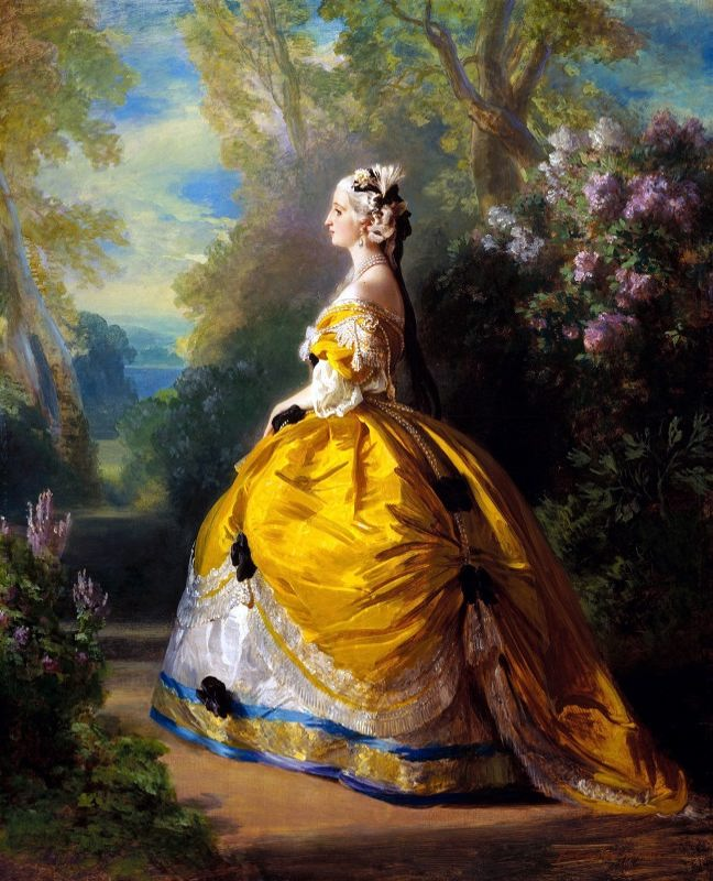 Maria Eugenia Augustine de Montijo, Countess of Teba - Empress of France, the wife of Napoleon III