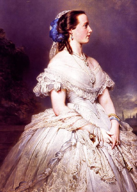 Maria Henrietta of Habsburg-Lorraine. Queen of Belgium, the wife of the King of Belgium Leopold II