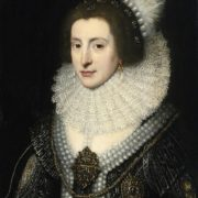 Michiel Jansz van Mierevelt. Portrait of Queen Elizabeth Stuart of Bavaria, the Winter Queen