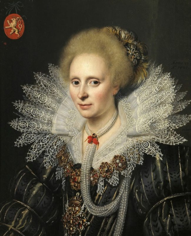 Michiel Jansz van Mierevelt. Portrait of a lady