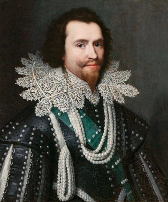Michiel van Mireveld. Portrait of George Villiers, Duke of Buckingham