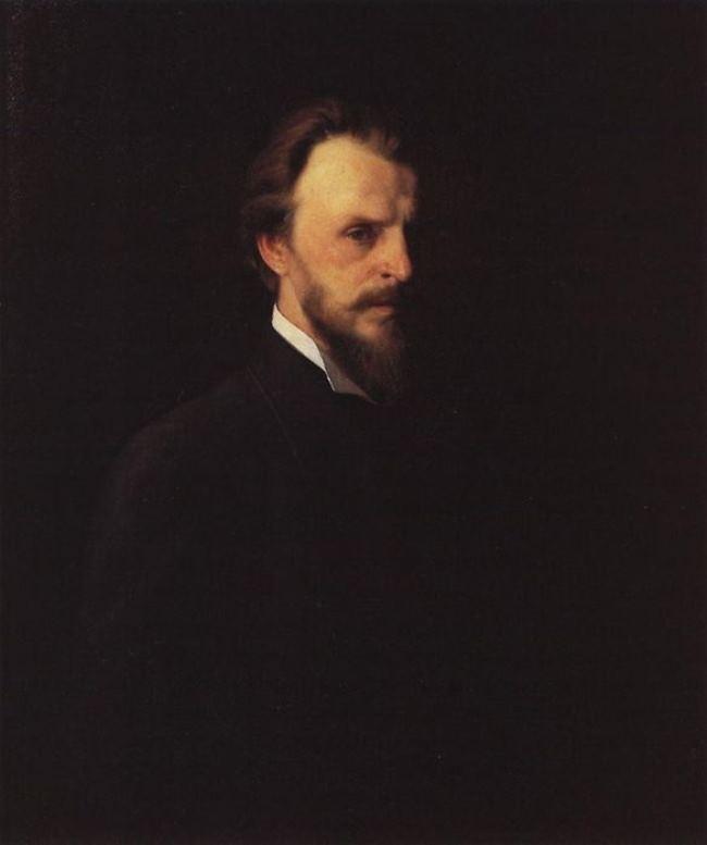 Myasoedov. Self-portrait. 1878