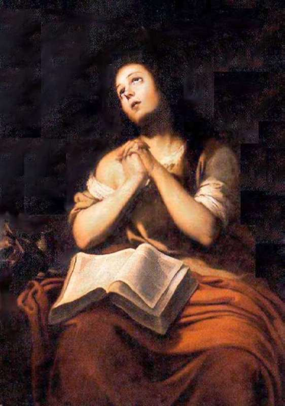 Penitent Magdalene, Academy of Arts of San Fernando, Madrid, Spain
