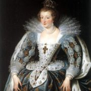 Peter Paul Rubens. Portrait of Anne of Austria