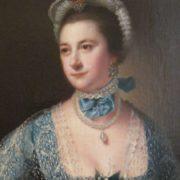Portrait de Mrs Andrew Lindington, vers Joseph Wright de Derby