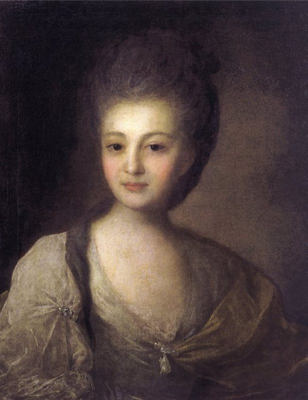 Portrait of A. P. Struiskaya. 1772